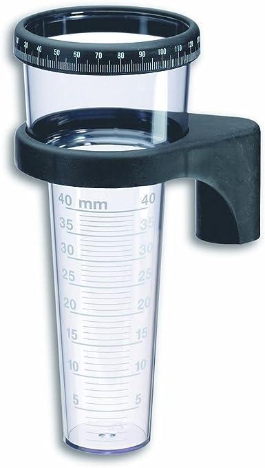 TFA 47.1001 - Pluviómetro plástico, 40 L, con Registro: Amazon.es: Jardín