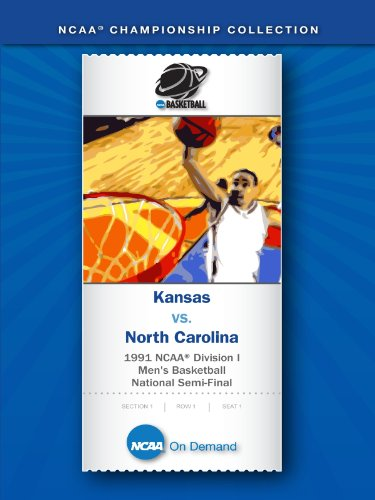 1991 NCAA(r) Division I Men's Basketball National Semi-Final - Kansas vs. North Carolina