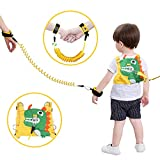 : Lehoo Castle Toddler Leash for Walking, Toddler Safety Harnesses Leashes, Safety Harness for Kids, Anti Lost Wrist Link Safety Wrist Link for Toddlers (Dinosaur)