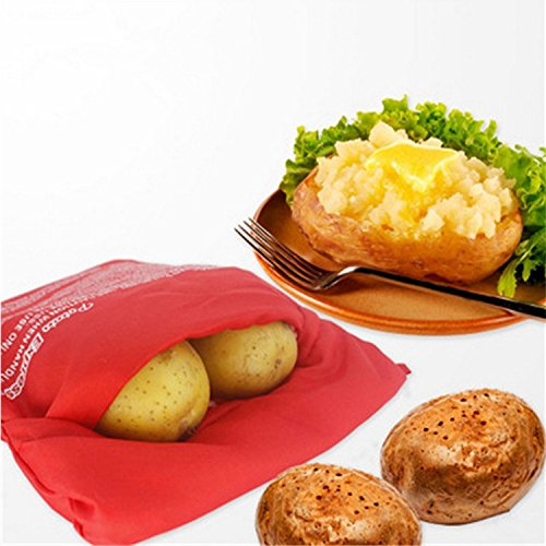 Missofsweet Chaqueta Patata microondas Bolsa de Patatas Cocina ...
