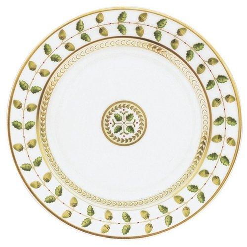 Bernardaud Plates. Bernardaud Louvre White Dinner Plate.