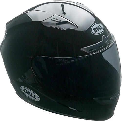 Bell Qualifier DLX Full-Face Motorcycle Helmet (Solid Black, Large)