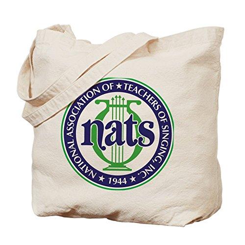CafePress - NATS Logo - Natural Canvas Tote Bag, Cloth Shopping - Shopping Nat