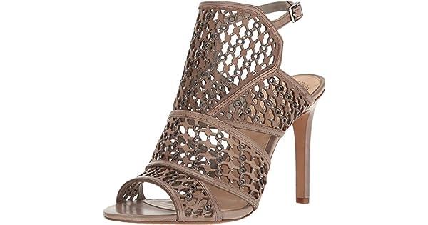 Vince Camuto Women/'s Korthina Open Toe Ankle Strap Dress Sandals Moonlight