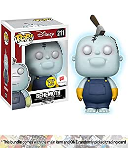 Behemoth [Glow-in-Dark] (Walgreens Exclusive): Funko POP! Disney x The Nightmare Before Christmas Vinyl Figure + 1 Classic Disney Trading Card Bundle (20928)