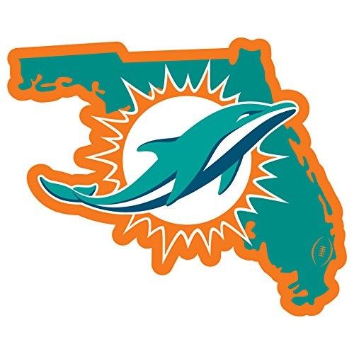 (NFL Miami Dolphins Home State Magnet, 11