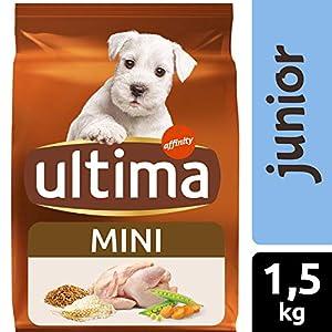 Ultima Pienso para Perros Mini Junior con Pollo – 1.5 kg