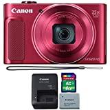Canon PowerShot SX620 HS 20.2MP Digital Camera Red + 8GB Memory Card