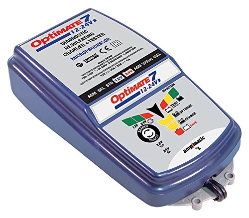OptiMATE 7 Select, TM-251, 9-step 10Amp battery charger for 12V starter and deep cycle batteries TecMATE