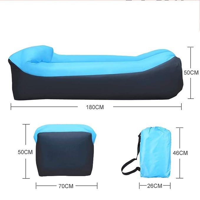 Amazon.com: Mopoq - Sofá hinchable para música y camping ...