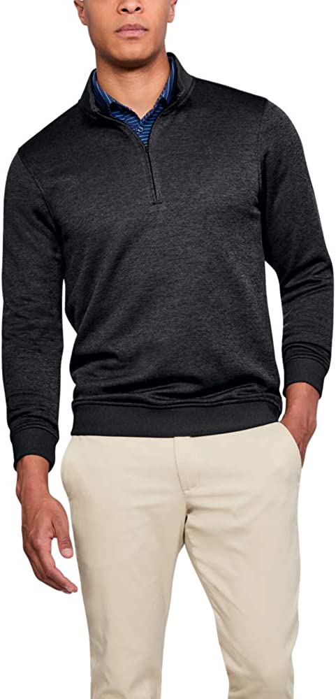 Under Armour Men's Storm SweaterFleece ¼ Zip Long Sleeve Golf Pullover