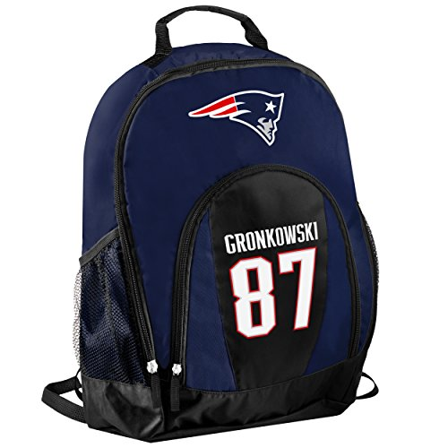 New England Patriots Official NFL Primetime Backpack Gym Bag - Rob Gronkowski #87