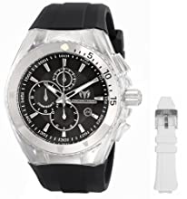 TechnoMarine Men's 110048 Cruise Original Chronograph Black Dial Watch