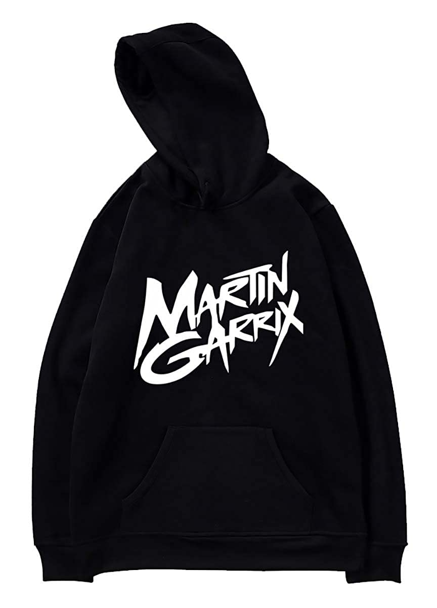 SIMYJOY Lovers DJ Martin Garrix Fans Felpe con cappuccio Suono elettrico GRX Cool Hip Pop Pullover Per Uomo Donna Teen PSIM4406-WY02-W