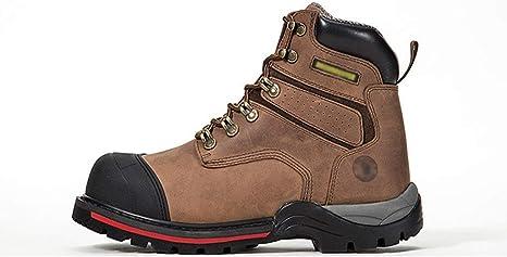 CG Zapato de Seguridad, Calzado de protección con Tapa de Acero con Suela Antideslizante Caucho, Antiestático para Hombre (Color : 44): Amazon.es: Deportes y aire libre