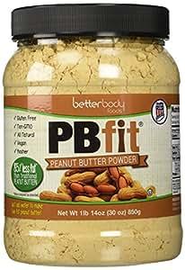 BetterBody Foods PBfit Peanut Butter Powder, 30 Ounce