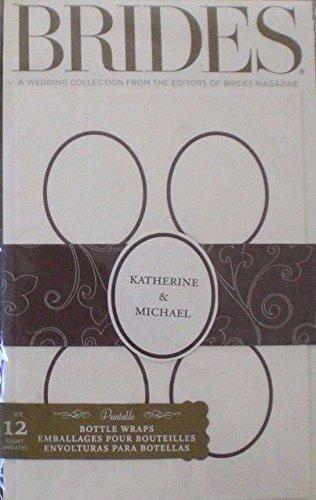 (Brides Magazine Printable Bottle Wraps-12 ct.)