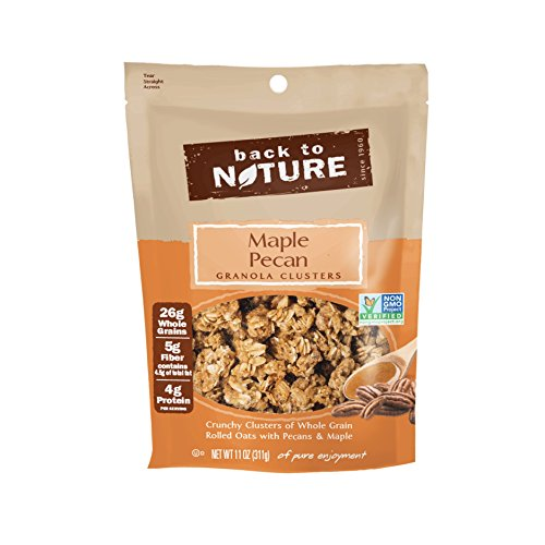 Back to Nature Non-GMO Maple Pecan Granola Clusters, 11 Ounce