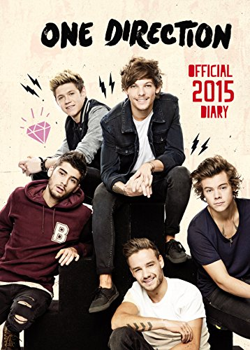 Official One Direction A6 Spiral Diary 2015 (One Direction Official Diary)