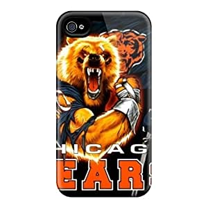 Anti-Scratch Hard Phone Covers For Iphone 6 (lOB14000ZgcQ) Custom Nice Chicago Bears Pattern