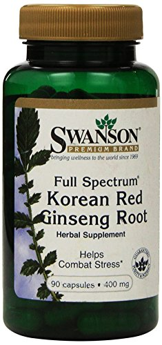 Cheap Swanson Premium Full-Spectrum Korean Red Ginseng Root 400 mg 90 Caps – Pack of Two