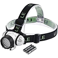 LE LED Headlamp, 4 Lighting Modes, Lightweight Headlight,...