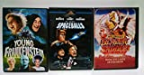 Mel Brooks 3 Pack : Spaceballs , Young Frankenstein , Blazing Saddles 30th Anniversary : Widescreen Editions