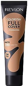 Revlon ColorStay Full Cover Foundation, Early Tan, 1.0 Fluid Ounce