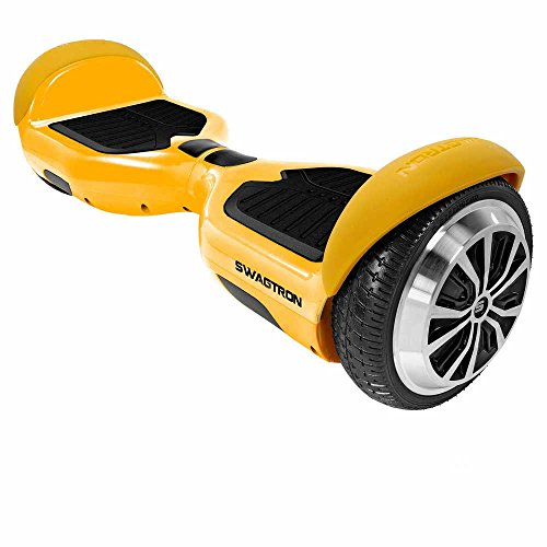 Swagtron T1 Hoverboard - World s First UL2272 certified Hands Free Two Wheel Self Balancing Electric Scooter