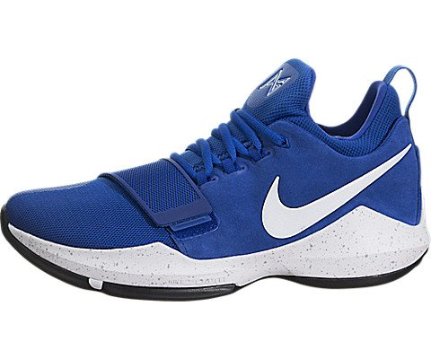 Nike PG 1 Paul George Mens Shoes Game Royal/White/Black 878627-400 (10 D(M) US) ()
