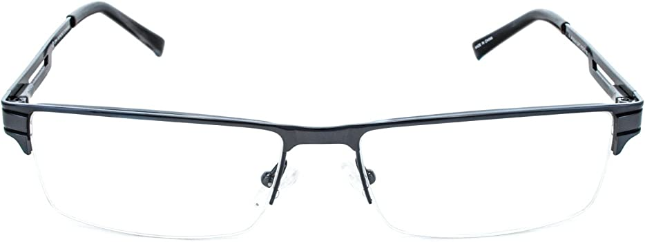 Amazon.com: John Raymond Loft Mens Eyeglass Marcos, Metálico ...