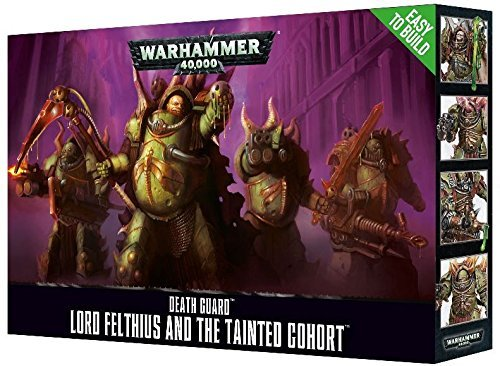 Games Workshop 99120102081 Etb Lord Felthius and The Tainted Cohort Tabletop and Miniature