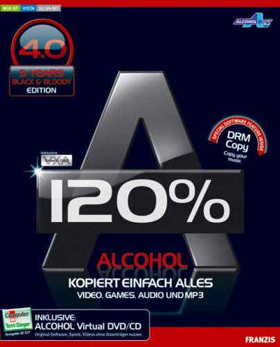 Alcohol 120% 4. 0 black & bloody edition pctipp. Ch.