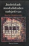 img - for Judeidad: Modalidades Subjetivas (Coleccion Psicologia Contemporanea) (Spanish Edition) book / textbook / text book