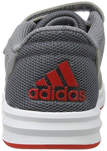 adidas Altasport, Zapatillas de Gimnasia Unisex Niños, Gris Gris (Grey/footwear White/onix)
