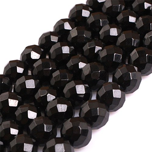 Black Spinel Beads for Jewelry Making Natural Gemstone Semi Precious 6mm Round AAA Grade 15