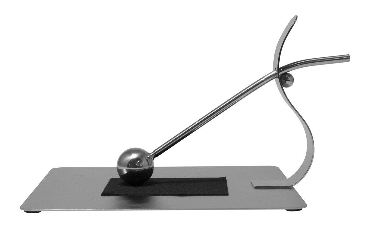Justnile Modern Napkin Holder - Stainless Steel Gripping Ball Small 8