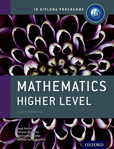 Free Ebook Ib Mathematics Higher Level Course Book Oxford Ib