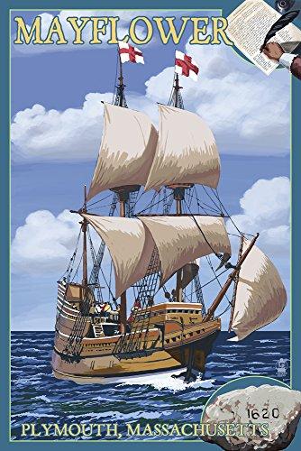 mayflower passengers poster