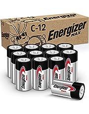 Energizer C Batteries Max Alkaline C Cell Size