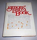 Simons' List Book, Howard Simons, 0671227696