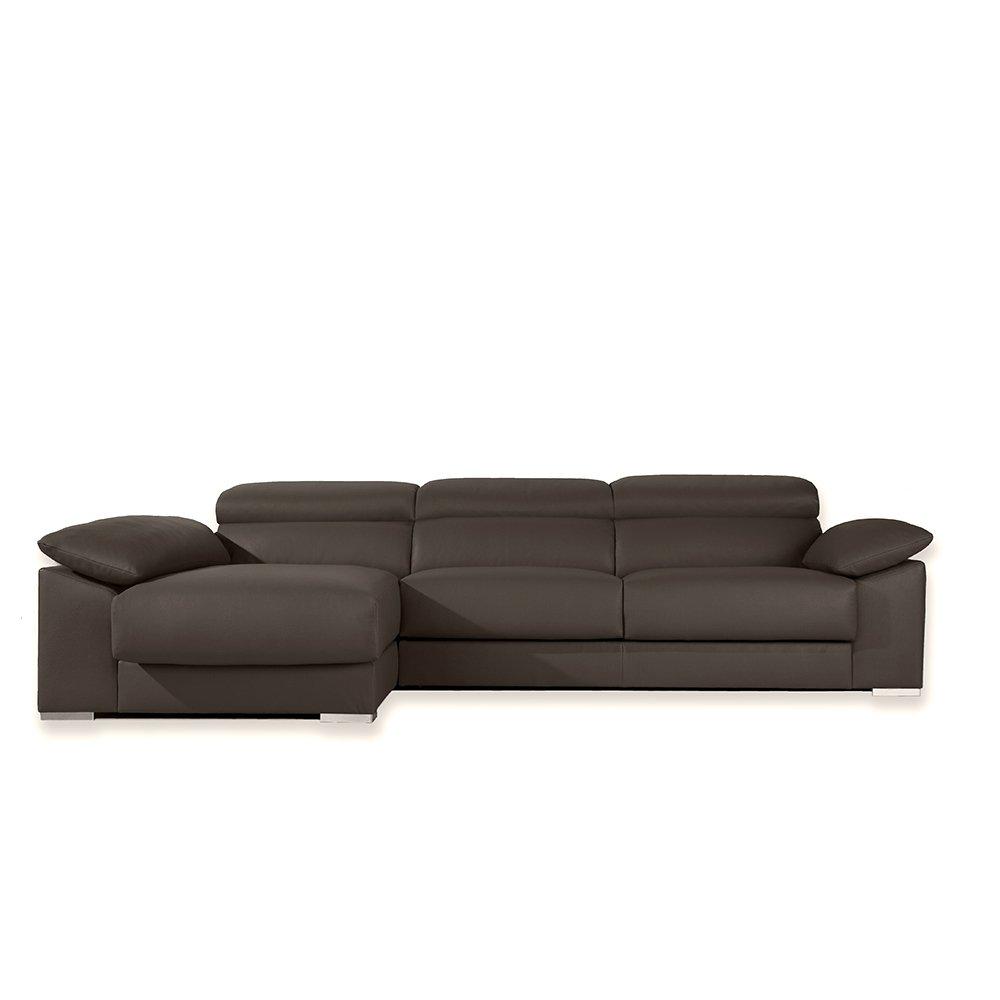 Zendo Sofas Sicilia sofá Chaise Longue de Izquierda con 2 ...