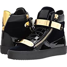 Giuseppe Zanotti Mens May London High Top Embroidered Sneaker