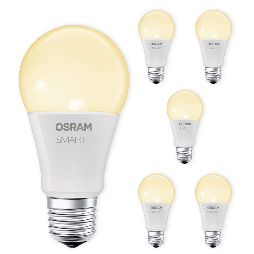 OSRAM SMART+ LED E27 8,5W 60W 2700K warmweiß ZigBee Lightify Alexa kompatibel Auswahl 6er Set