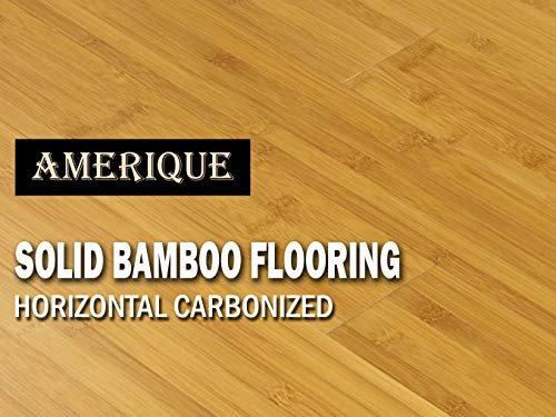 AMERIQUE GLHCM9609615 Pre-Finished Solid Bamboo Floor Horizontal...