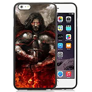 Beautiful And Unique Designed With Undead Sword Books Fire Lightning For iPhone 6 Plus 5.5 Inch TPU Phone Case