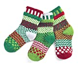 Solmate Socks, Mismatched Kids socks, A pair with a spare, Humbug Medium