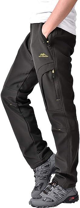 Men Pantalones Para Hombres De Invierno Ropa Impermeable Para Nieve Frio Senderismo Clothing Shoes Accessories Vishawatch Com