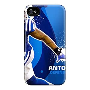 Scratch Protection Hard Cell-phone Cases For Iphone 6 (BNE11050HFgR) Unique Design Lifelike Indianapolis Colts Series