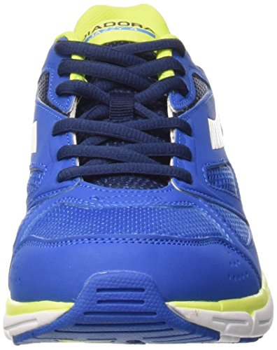Diadora Jazzy 4 - Zapatillas de running de Material Sintético para hombre Azzurro/Bianco